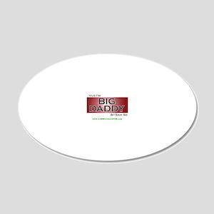 cuzbig3 20x12 Oval Wall Decal