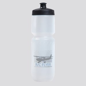 RC Flyer Hign Wing Airplane Sports Bottle