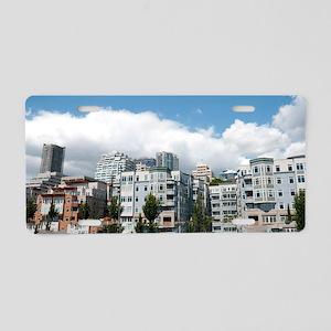 CityLiving070310 Aluminum License Plate