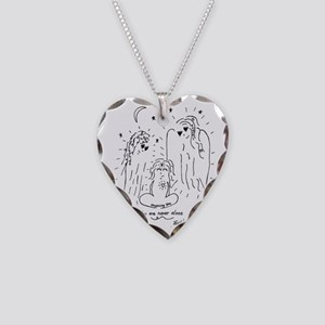 You are Never Alone Keepsake Necklace Heart Charm