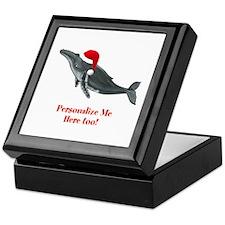 Personalized Whale Keepsake Box