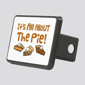 It's All About The Pie Rectangular Hitch Cover