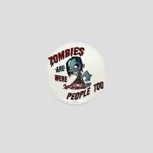 zombie---- Mini Button