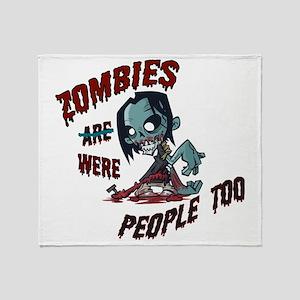 zombie---- Throw Blanket