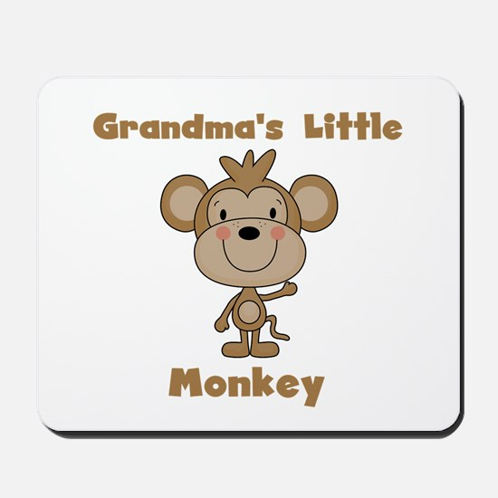 Grandma's Little Monkey Mousepad