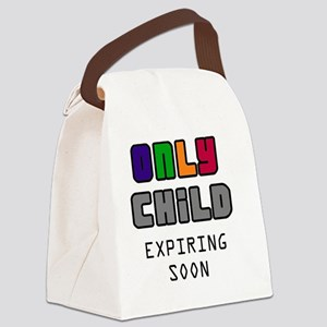 Only Child Canvas Lunch Bag