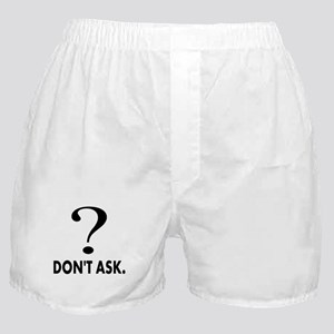 Question Mark, Dont Ask Boxer Shorts