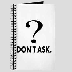 Question Mark, Dont Ask Journal
