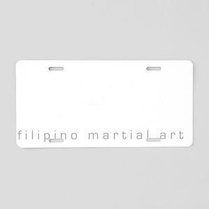 kali a Aluminum License Plate