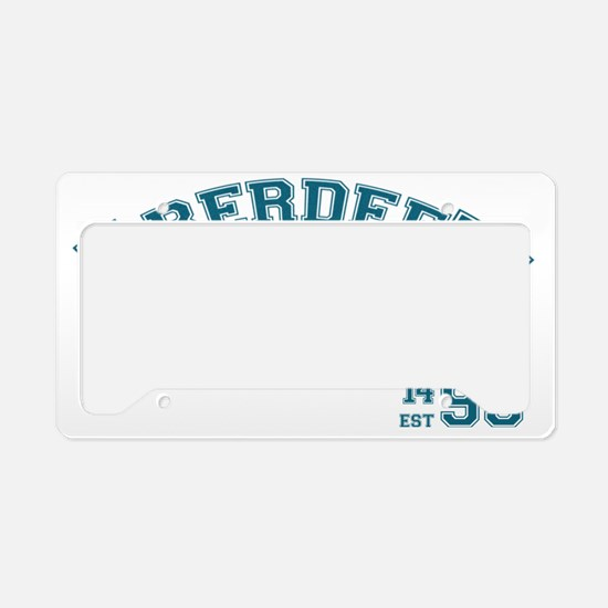 Aberdeen University Est 1495 License Plate Holder