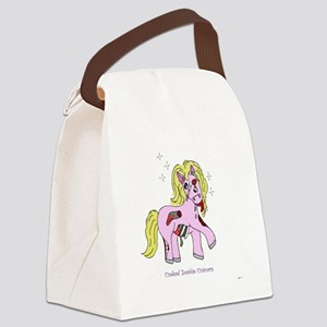 undead_zombie_unicorn copy Canvas Lunch Bag