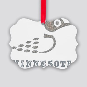 LoonTshirt Picture Ornament