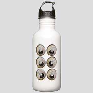 six pack abs t-shirt Stainless Water Bottle 1.0L