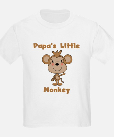 Papa's Little Monkey T-Shirt