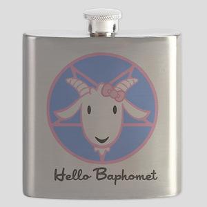 Hello Baphomet Flask
