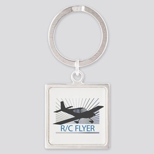 RC Flyer Low Wing Airplane Keychains