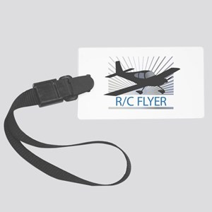 RC Flyer Low Wing Airplane Luggage Tag