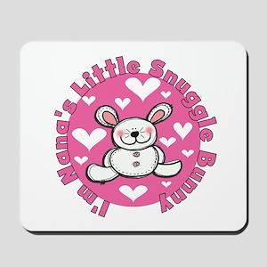 Nana's Snuggle Bunny Mousepad