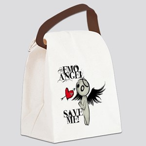 emo angel Canvas Lunch Bag
