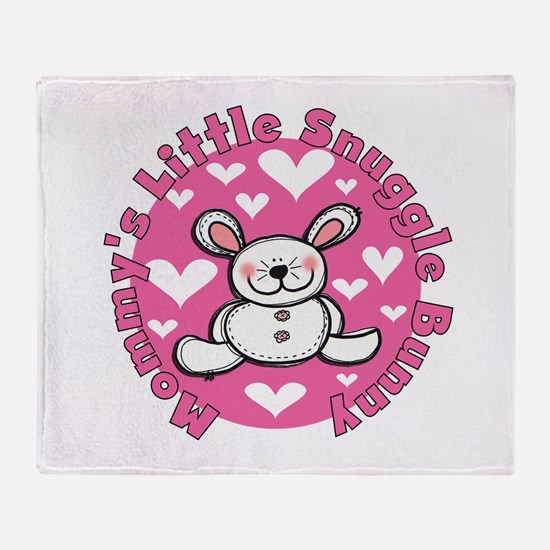Mommy's Snuggle Bunny Throw Blanket