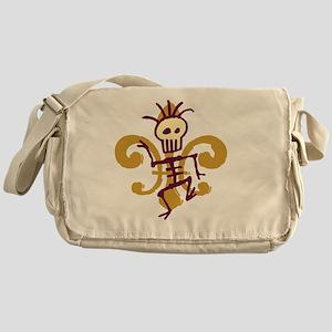 DatBonesFleurtra Messenger Bag