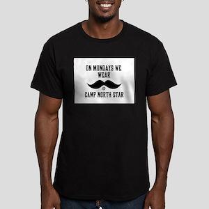 Camp North Star Mustache Mondays T-Shirt