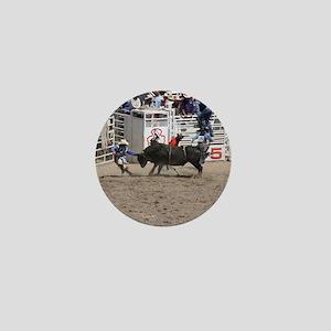 bull 1 Mini Button
