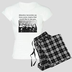 NUNS WITH GUNS Women's Light Pajamas