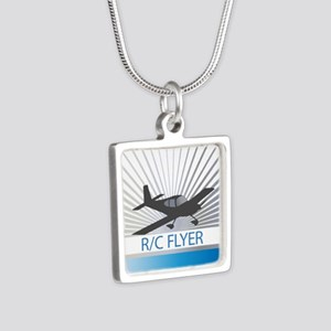 RC Flyer Low Wing Airplane Necklaces