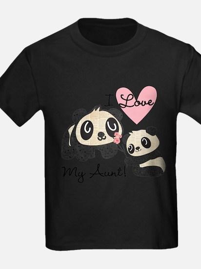 Pandas I Love My Aunt T