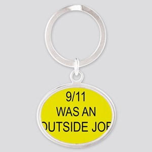 outsidejob Oval Keychain