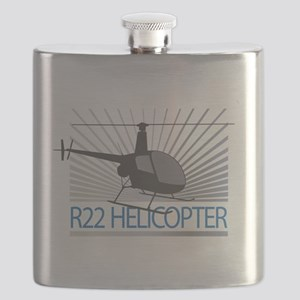 Aircraft R22 Helicopter Flask