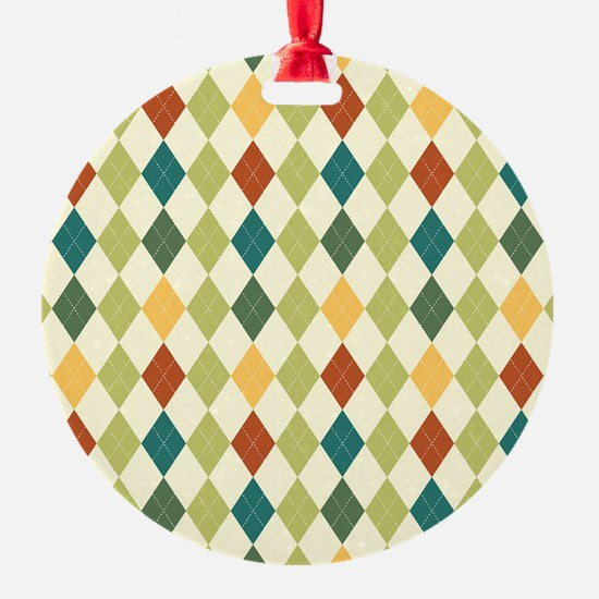 Paxton Argyle Pattern Ornament