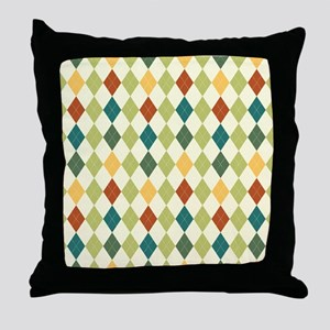 Paxton Argyle Pattern Throw Pillow