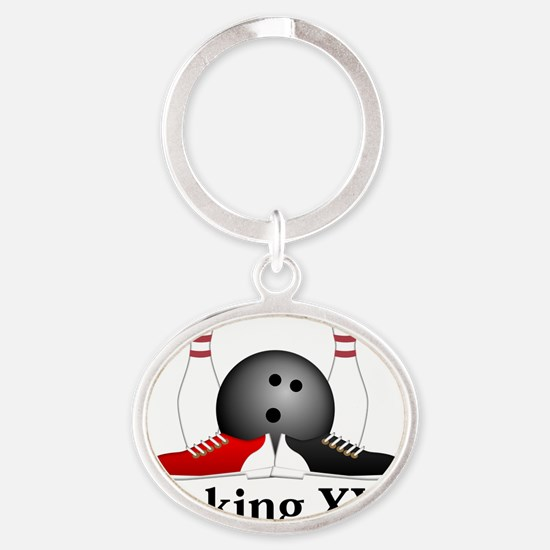 complete_b_1194_15 Oval Keychain