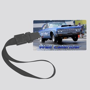 NSScalendarcover1 Large Luggage Tag