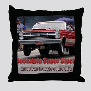 NSS-Bates-Cover Throw Pillow