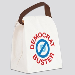 2-Democrat Buster 1 Canvas Lunch Bag