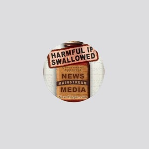 Harmful If Swallowed Mini Button