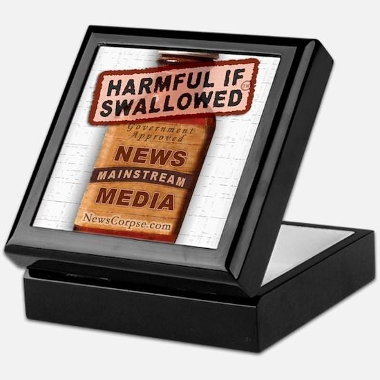 Harmful If Swallowed Keepsake Box