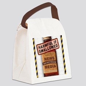 Harmful If Swallowed Canvas Lunch Bag