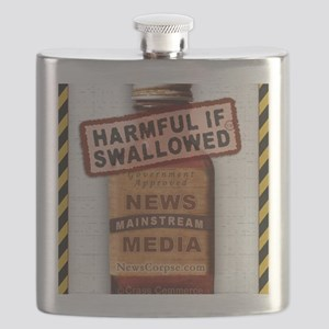 Harmful If Swallowed Flask