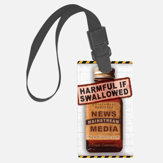Harmful If Swallowed Luggage Tag