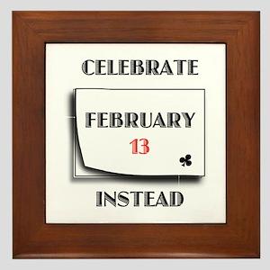 February 13 Framed Tile