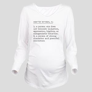 Nasty Woman Definition Maternity T-Shirt