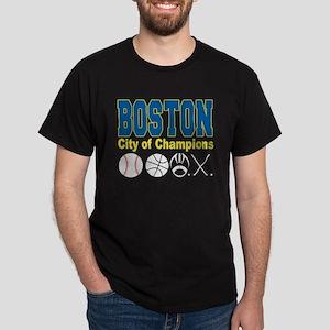 Boston City of Champions Dark T-Shirt