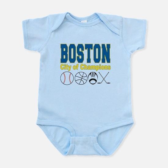 Boston City of Champions Infant Bodysuit