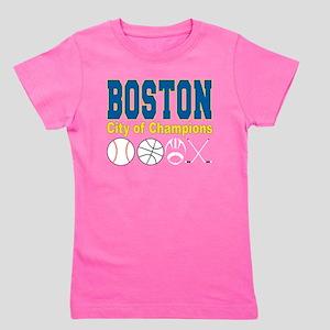 Boston City of Champions Girl's Tee