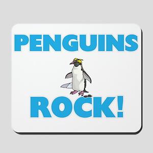 Penguins rock! Mousepad