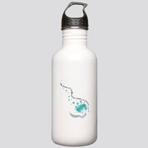 Imagination Quote Stainless Water Bottle 1.0L